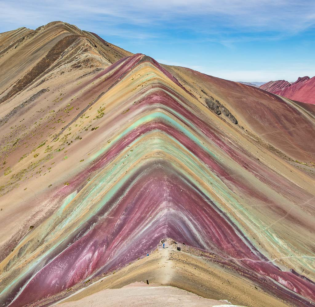 Rainbow Mountain, Rainbow Mountain Peru, Peru, Vinicunca, Rainbow mountain in photos