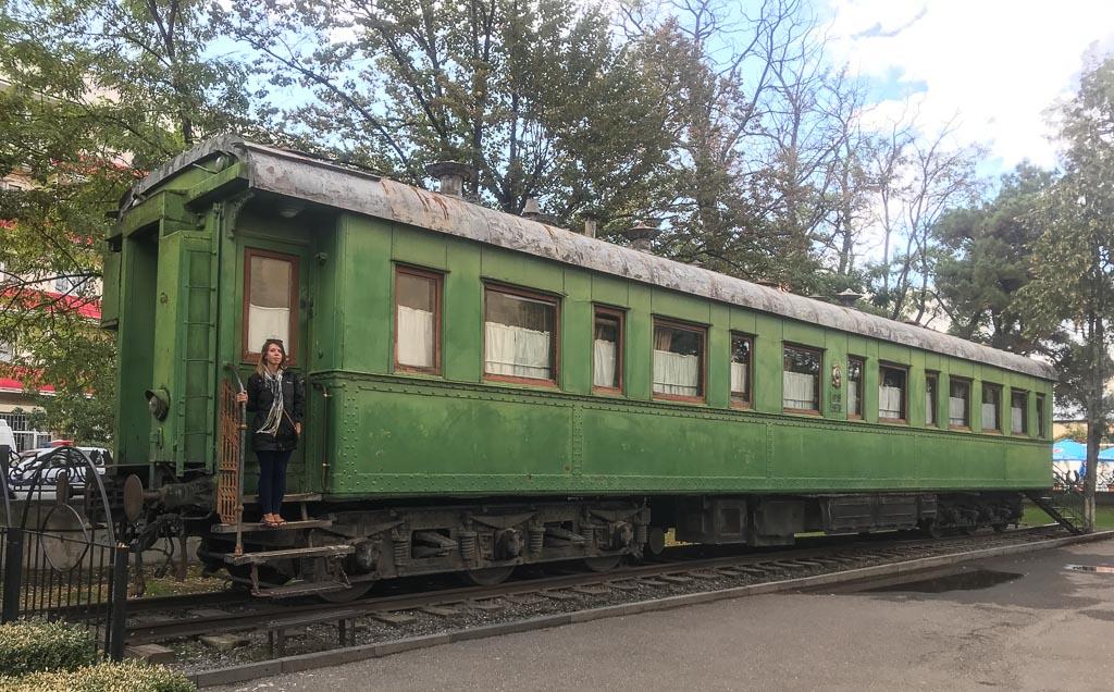 Stalin's train, Gori, Georgia