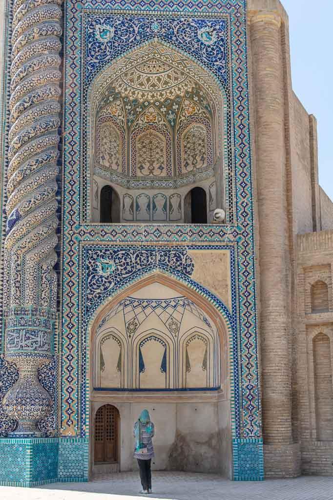 Khoja Parsa Mausoleum, Khodja Parsa Mausoleum, Khodja Parsa Shrine, Shrine of Khodja Parsa. Khoja Parsa Shrine, Balkh, Balkh Province, Old Balkh
