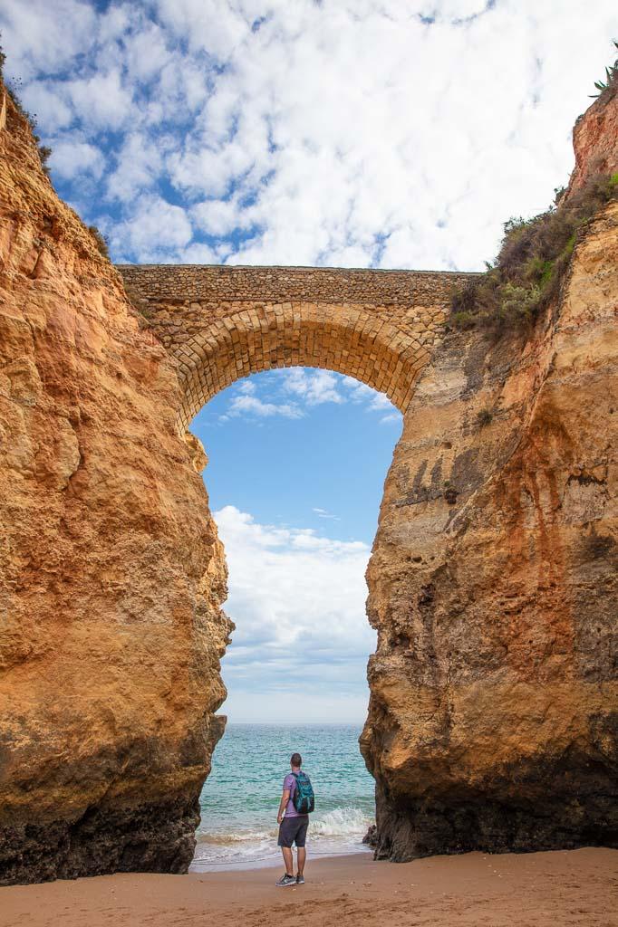 Dan Flying Solo, Lagos, Portugal, Algarve