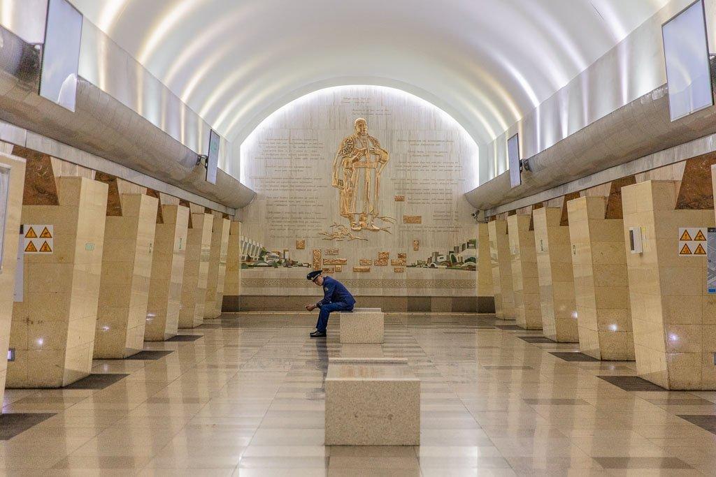 Abai, Abay, Abai Metro station, Abay Metro station, Almaty, Almaty, Kazakhstan, Almaty Metro