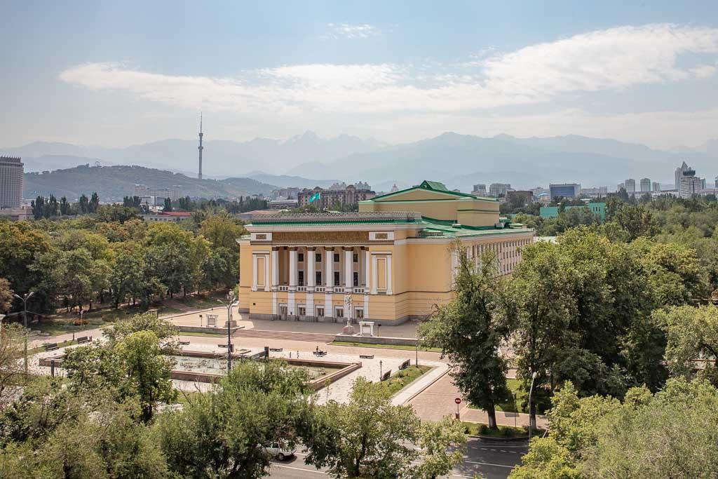 Almaty, Kazakhstan, Abay Theatre