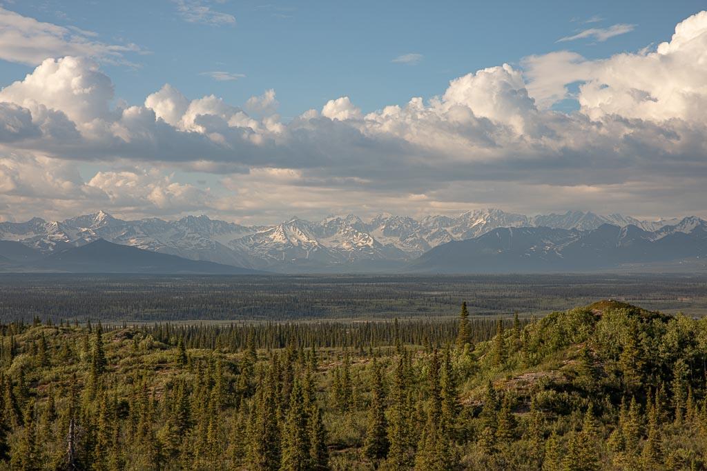 Denali Highway, Alaska, Alaska Range, Taiga Forest, Boreal Forest, Alaska Range
