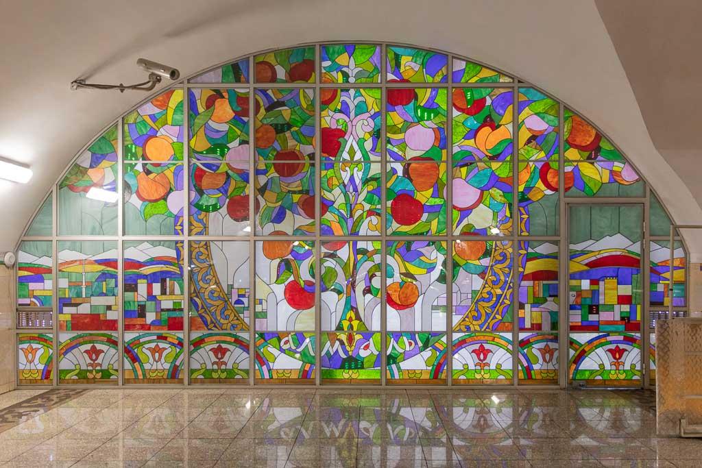 Almali, Almaly, Almaly Metro station, Almali Metro station, Almaty, Almaty, Kazakhstan, Almaty Metro