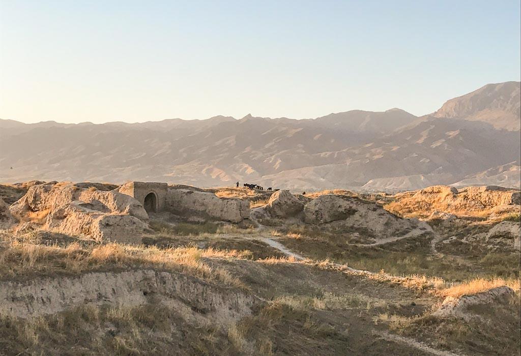 Ancient Panjakent, Old Panjakent, Stari Panjakent, Panjakent, Penjikent, Tajikistan, Central Asia, Sughd, Sogdiana, Sogdia