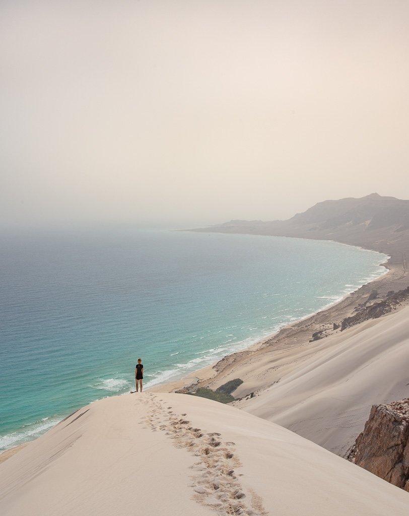 Socotra, Socotra Island, Yemen, Arher, Arher Beach, Arher sand dune, Arher dune, Socotra sand dune