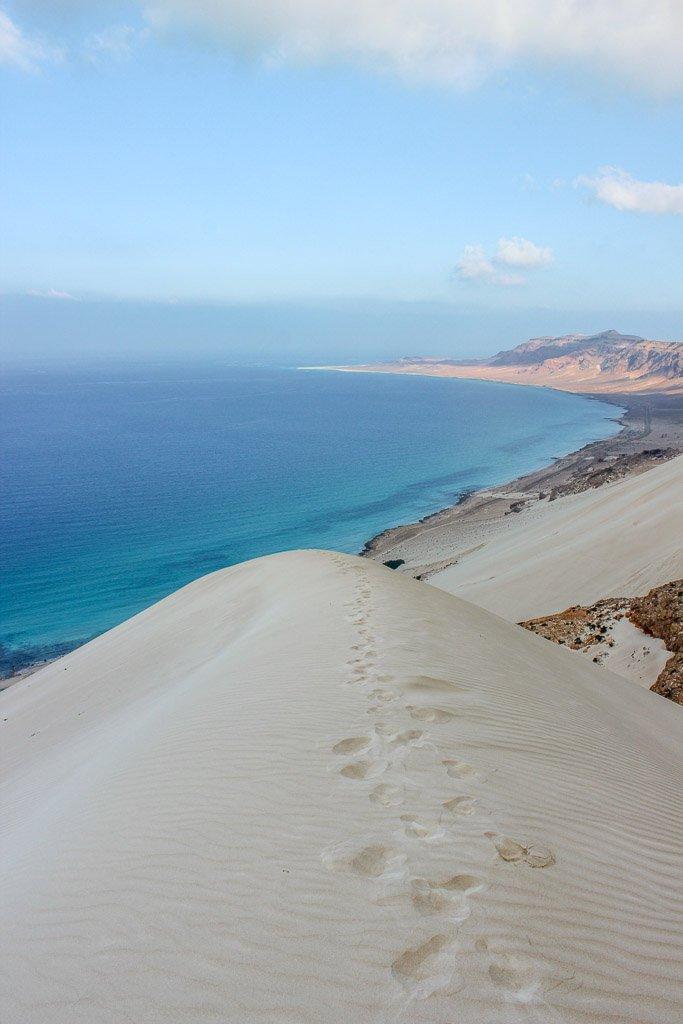 Arher, Arher Beach, Arher Sand Dune, sand dune, beach, Socotra, Arher beach Socotra, Arher Socotra, Socotra Island, Yemen