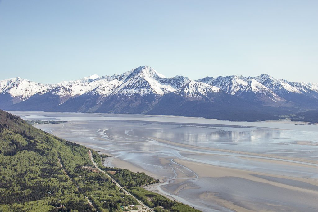 10 day Alaska itinerary, Bird Ridge, Bird Ridge Alaska, Cook Inlet, Anchorage day hikes, Alaska