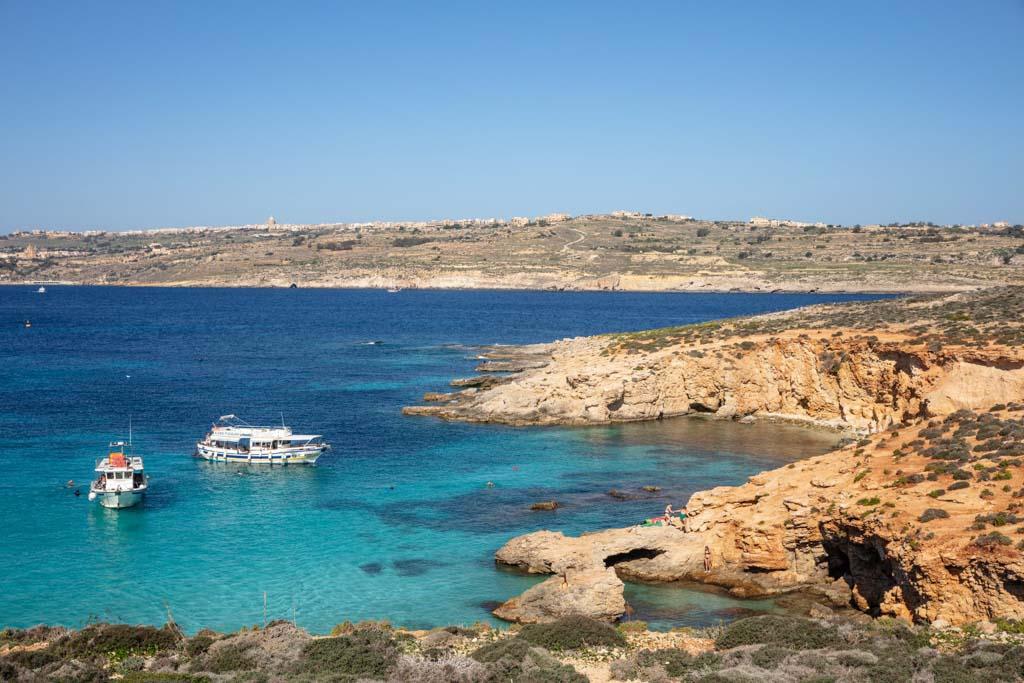 Malta, Malta travel, Malta travel guide, 4 days Malta, Malta itinerary, Europe, Mediterranean, 4 day Malta, 4 day Malta itinerary, Comino, Blue Lagoon, Blue Lagoon Comino, Blue Lagoon Malta