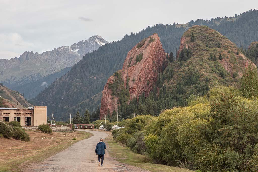 Broken Heart, Jeti Oguz, Kyrgyzstan