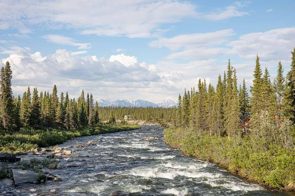 Brushkana Creek, Bruskana Creek, Denali Highway, Alaska
