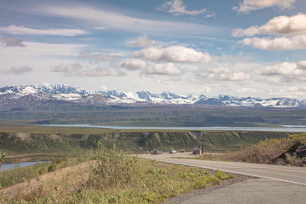 Denali Highway, Alaska, Tangle Lakes, Alaska Range