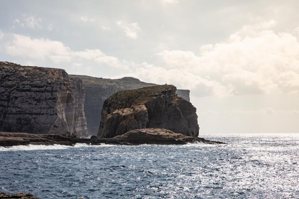 Malta, Malta travel, Malta travel guide, 4 days Malta, Malta itinerary, Europe, Mediterranean, 4 day Malta, 4 day Malta itinerary, Gozo, Dwerja, Dwerja Bay