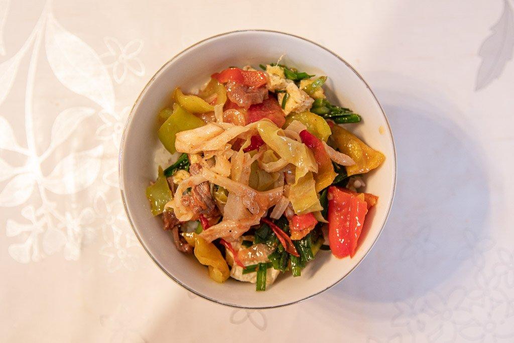 Ganfan, Latse Tse, Swan Tse, Jutse Tse, Dungan food, Uyghur food, Kyrgyzstan, Karakol, Karakol food, Karakol restaurants
