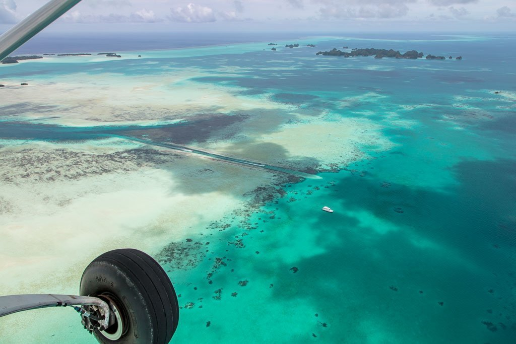 German Channel, Palau on a budget, Palau, Pacific Mission Aviation, PMA
