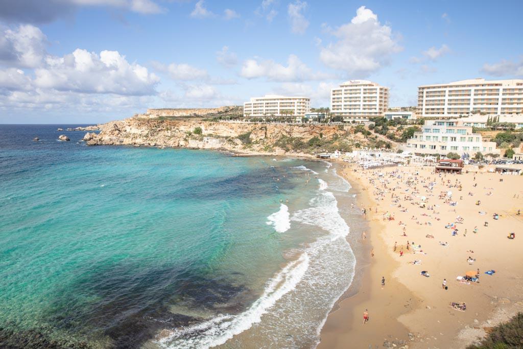 Malta, Malta travel, Malta travel guide, 4 days Malta, Malta itinerary, Europe, Mediterranean, 4 day Malta, 4 day Malta itinerary, Golden Beach Malta, Golden Beach