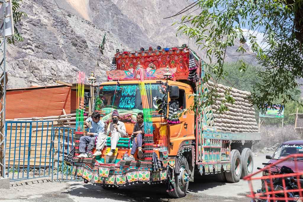 Jingle Truck, Gupis, Giligit-Baltistan, Pakistan