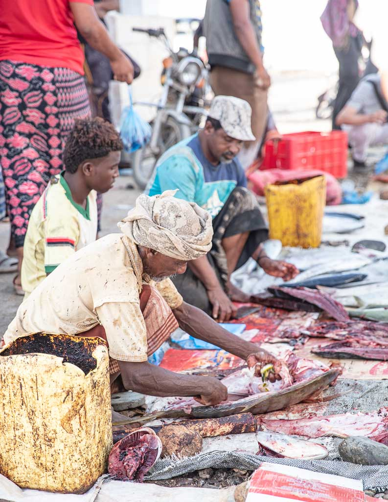 Socotra, Socotra Island, Yemen, Hadiboh, Hadiboh fish market, Socotra fish market