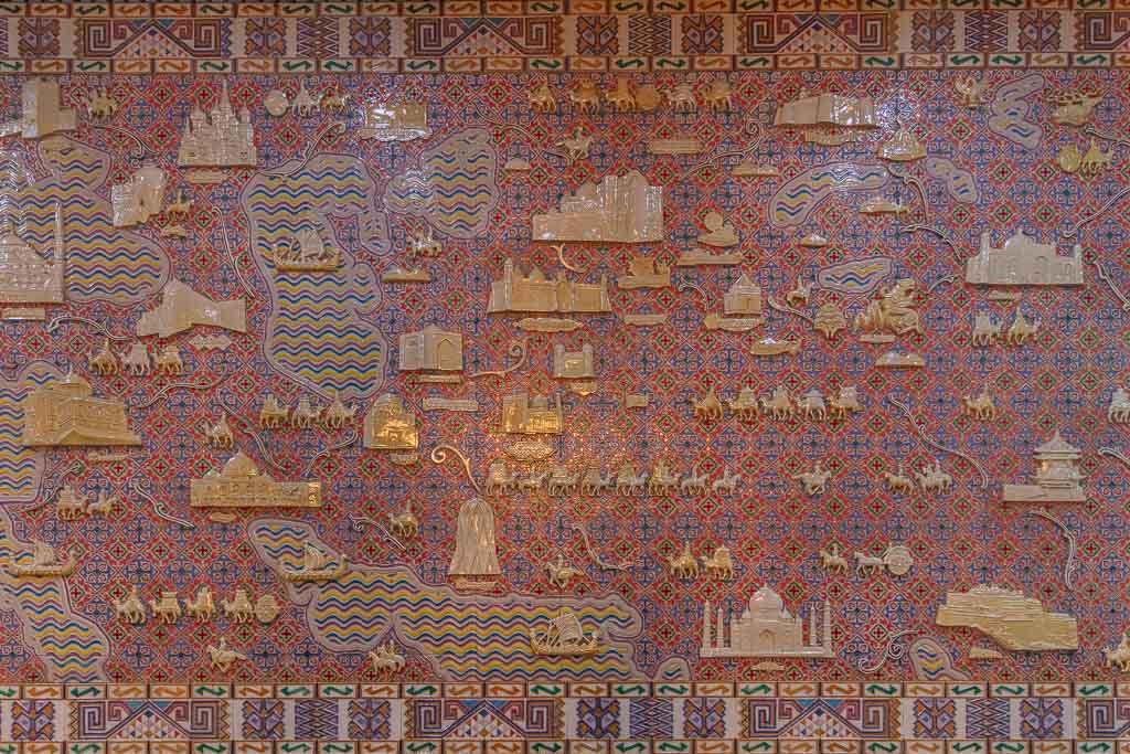 Jibek Joli, Zhibek Joli Zhibek Joli metro station, Jipek Joli, Jipek Joli Metro station, Jibek Joli Metro station, Almaty, Almaty, Kazakhstan, Almaty Metro