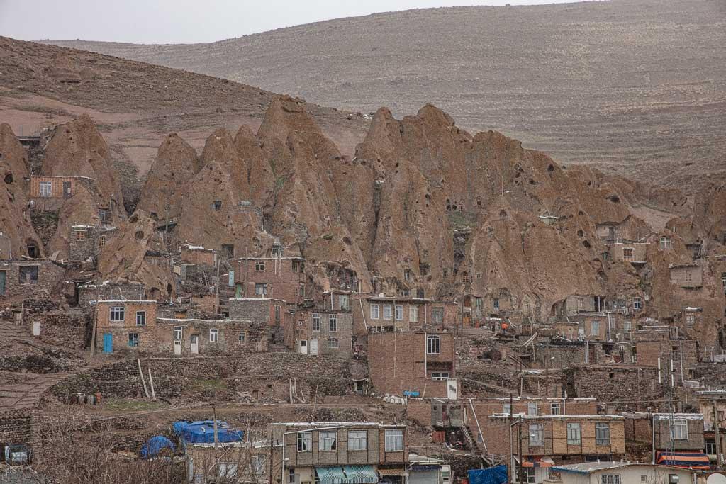 Kandovan, Iran, Azerbaijan, cave village Iran