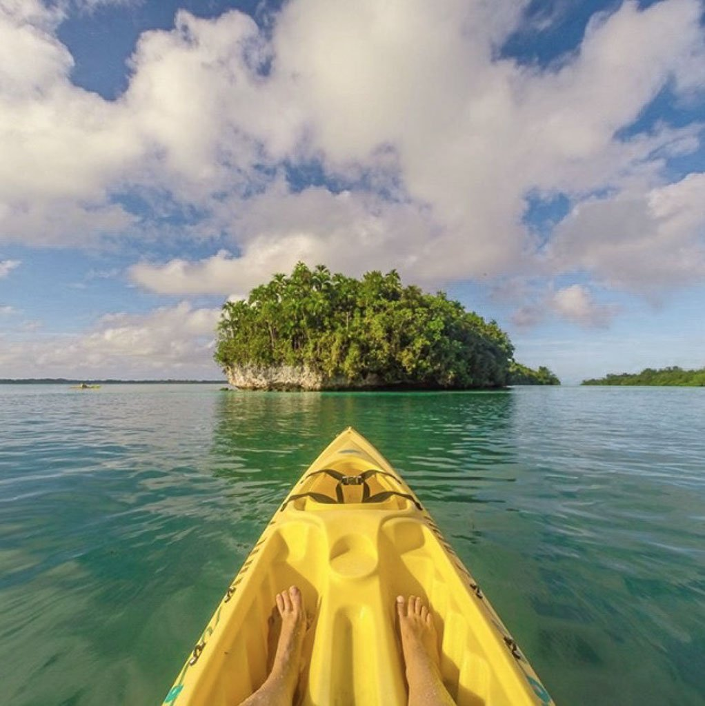 Kayak Palau, kayaking Palau, Palau, Palau on a budget