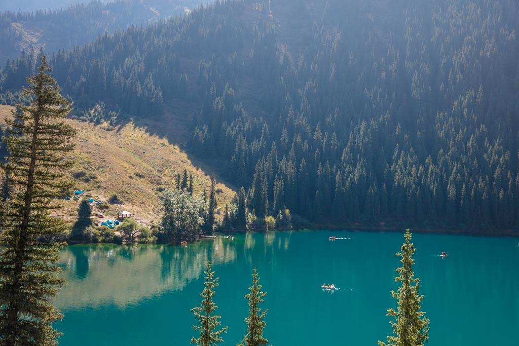Kolsai Lake, Kazakhstan, Kolsai Lake I, Pearl of the Tien Shan, Pearls of the Tien Shan, Kolsai