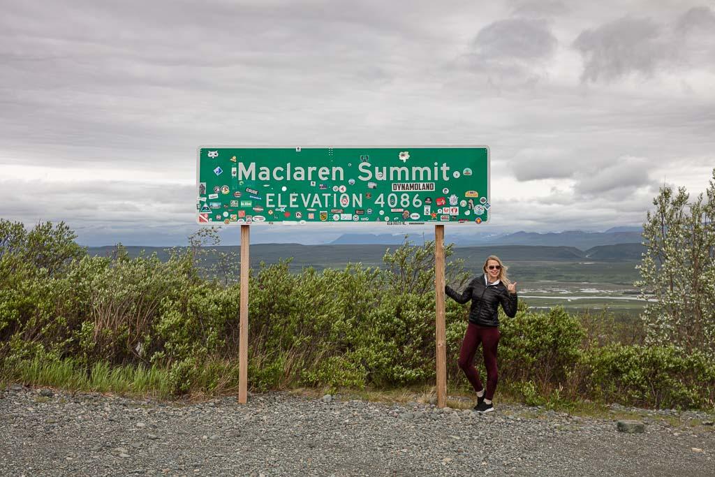 Denali Highway, Alaska, Maclaren Summit