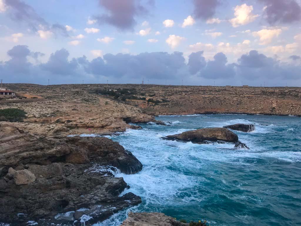 Lampedusa, Lampedusa travel, Lampedusa travel guide, Italy, Southern Italy, Sicily, Pelagie, Pelagie Islands, Mare Morto, Cala Creta