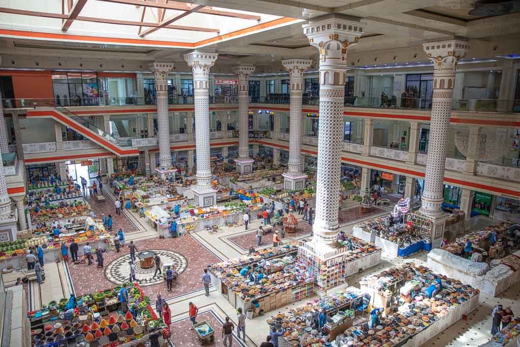 Mehrong, Mehrong Bazaar, Dushanbe, Tajikistan