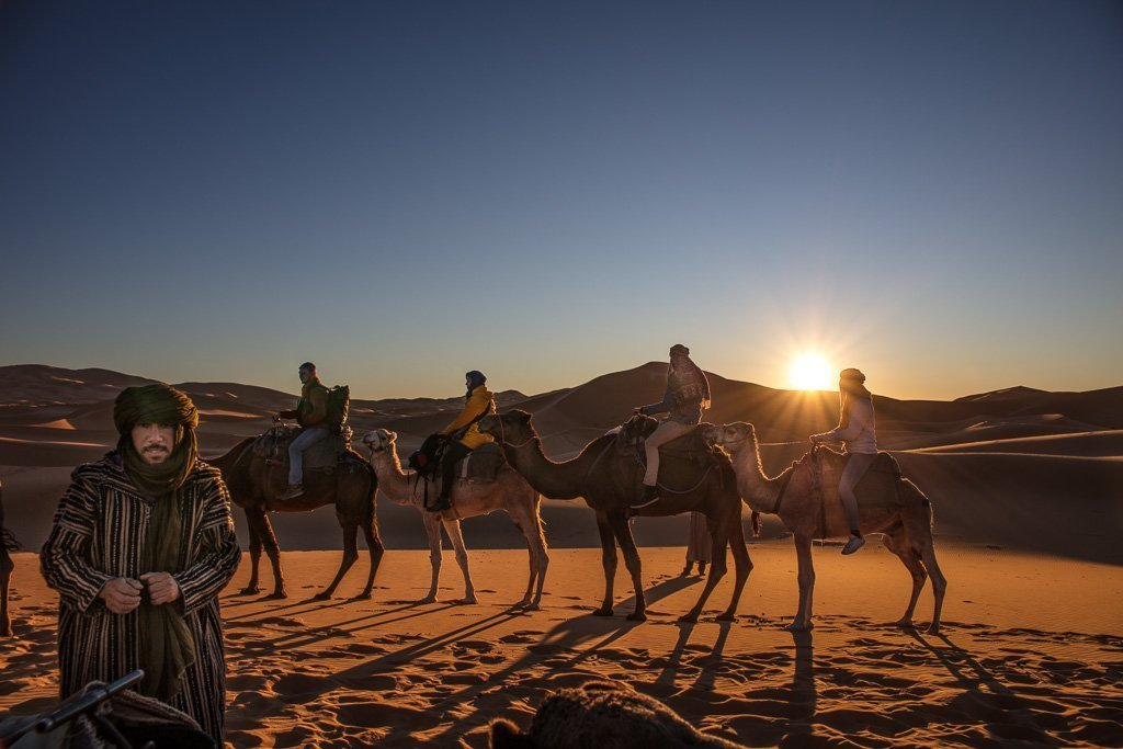 spend the night in the Sahara, Sahara desert, Sahara camping, camp Sahara, Sahara camp, desert camp, Morocco camp, camping, Merzouga, Erg Chebbi, Morocco, camp north africa, camel, camels, Morocco camel