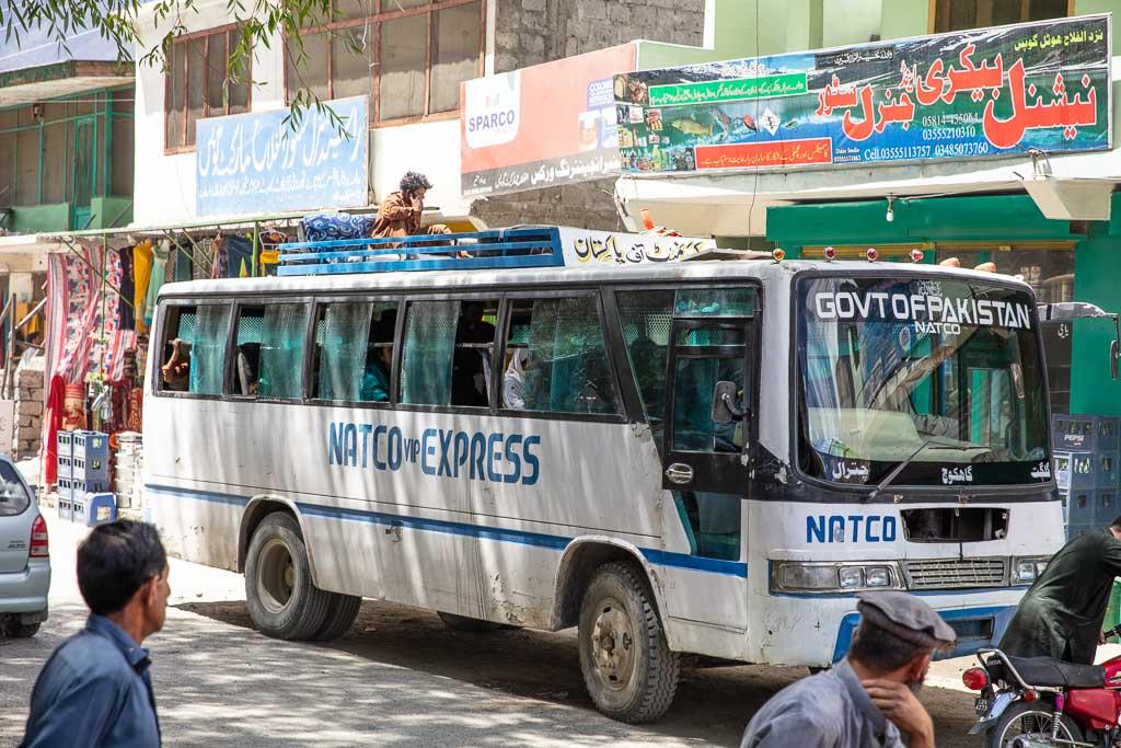 Gilgit Baltistan Travel, Gilgit Baltistan travel guide, Gilgit Baltistan, Gilgit-Baltistan, Pakistan, Northern Pakistan, Northern Areas, FANA, Gupis, Gakuch, Ghakuch, NATCO, NATCO bus, Northern Areas Transportation Corporation