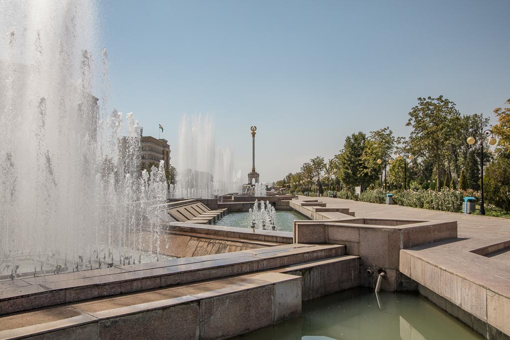 Dushanbe, Dushanbe Guide, Dushanbe City Guide, Dushanbe Travel Guide, Rudaki Park, Bag i Rudaki, Parchan