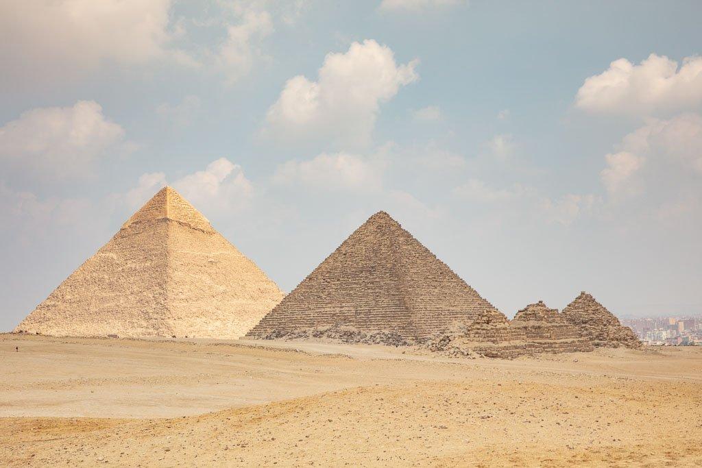 Pyramids of Giza, Giza Pyramids, Giza, Egypt, Cairo, Pyramids