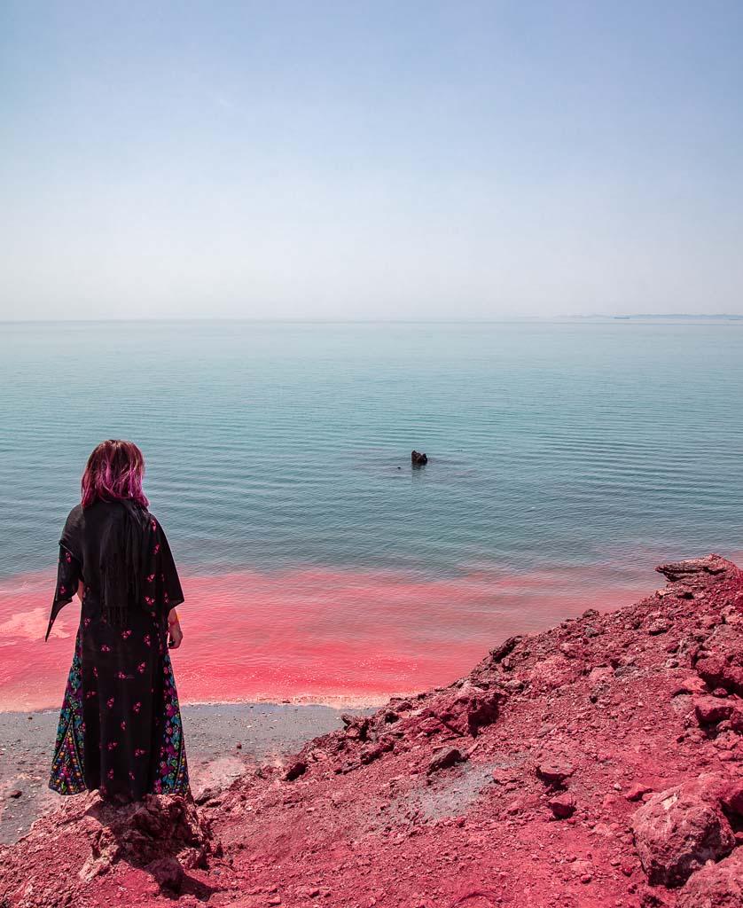 Hormuz, Hormuz Island, Hormuzgan, Red Beach, Red Beach Hormuz, Red Beach Iran, Iran, Solo female travel Iran