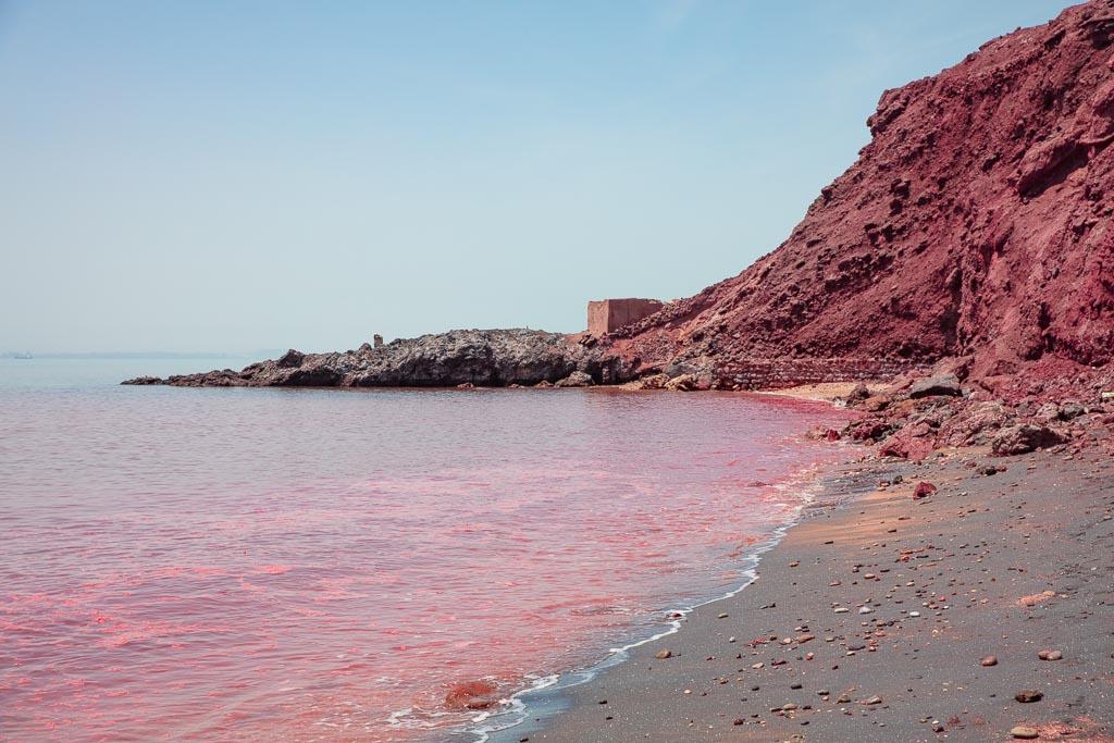 Hormuz Island, Hormuz, Iran, Red Beach, Red Beach Iran, Read Beach Hormuz