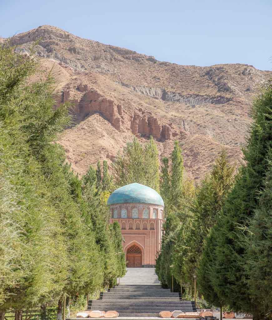 Panjrud, Rudaki Mausoleum, Tajikistan, Sughd