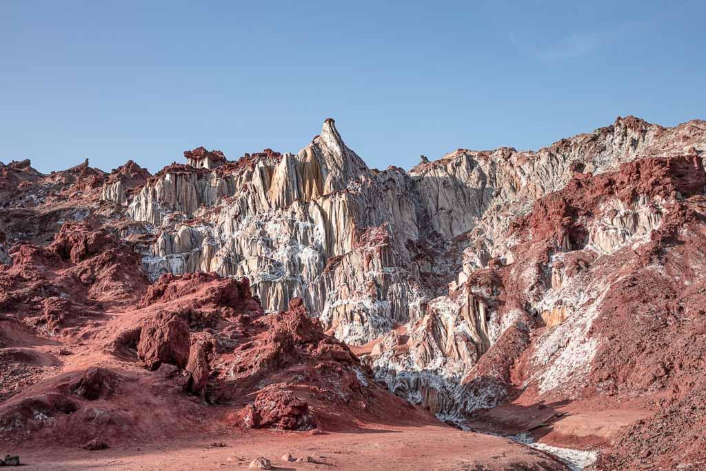 Hormuz Island, Hormuz, Iran, Salt Mountain, Salt Mountain Hormuz