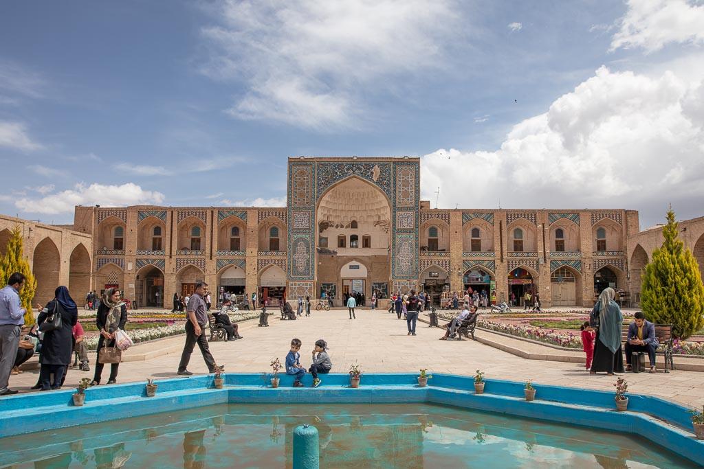 Kerman, Iran, Caravanserai, Sartsari Bazaar, Sartsari Caravanserai
