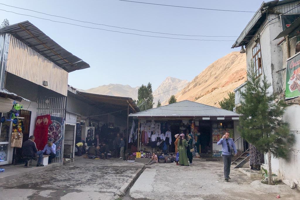 Sarvoda Bazaar, Sarvoda, Tajikistan, Sughd