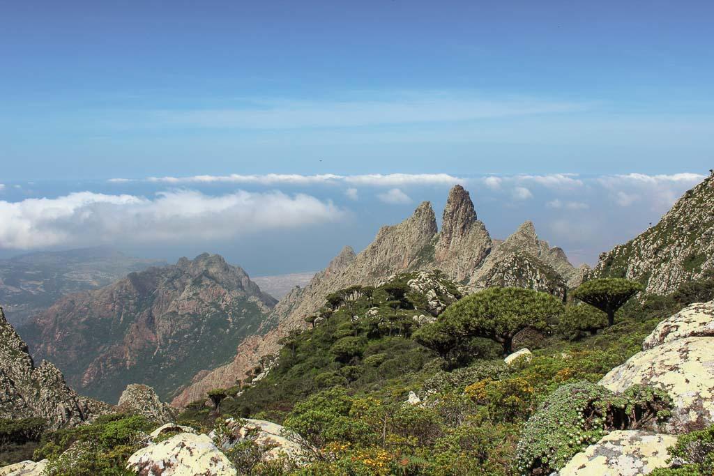Skand Peak, Skånd Peak, Haggier Mountains, Haggiers, Socotra, Socotra Island, Yemen