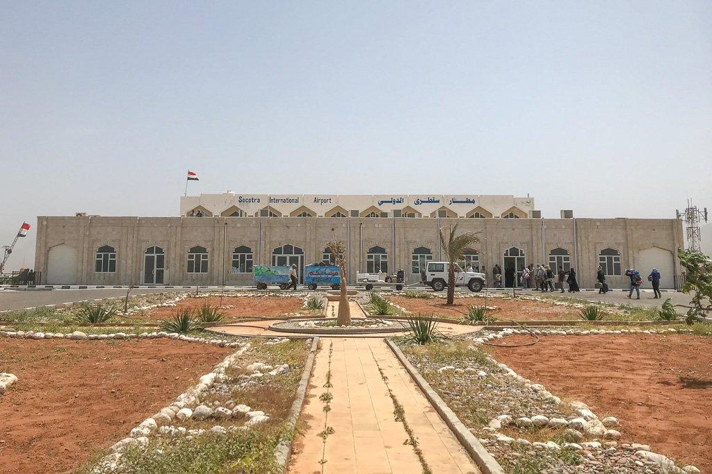 Socotra Airport, Socotra International Airport, Hadibo Airport, Hadiboh International Airport, Hadiboh, Socotra, Yemen, Yemenia, SCT