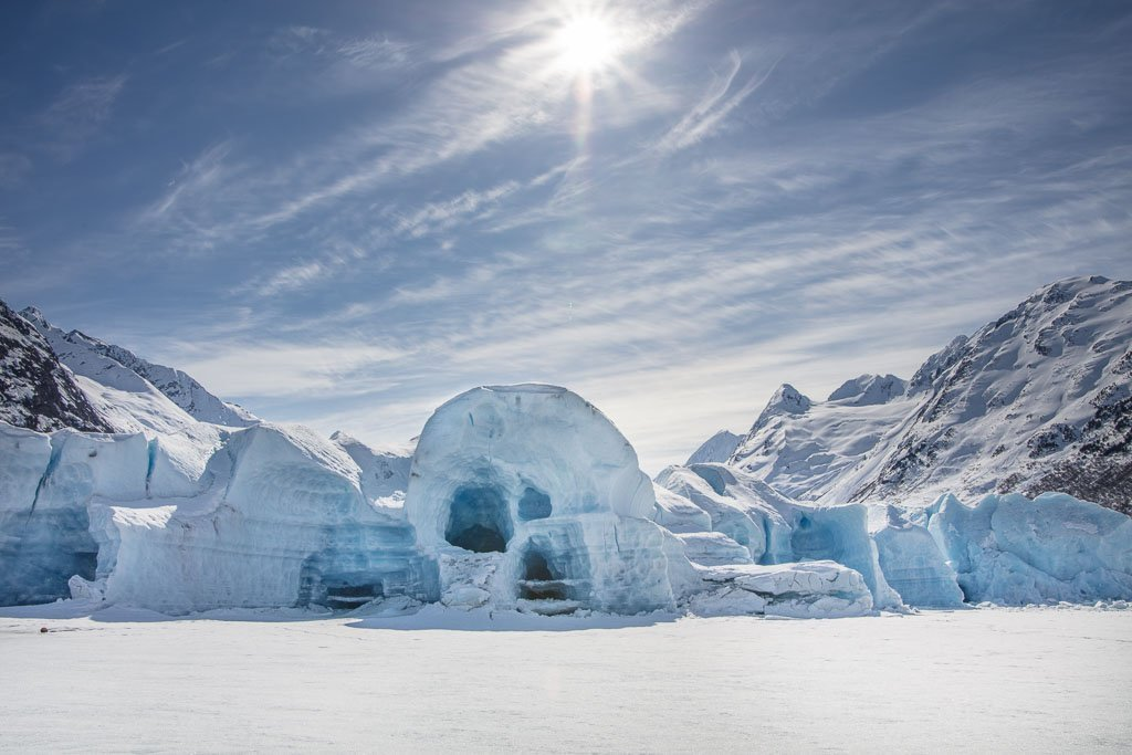 spencer glacier whistle stop, Spencer Glacier