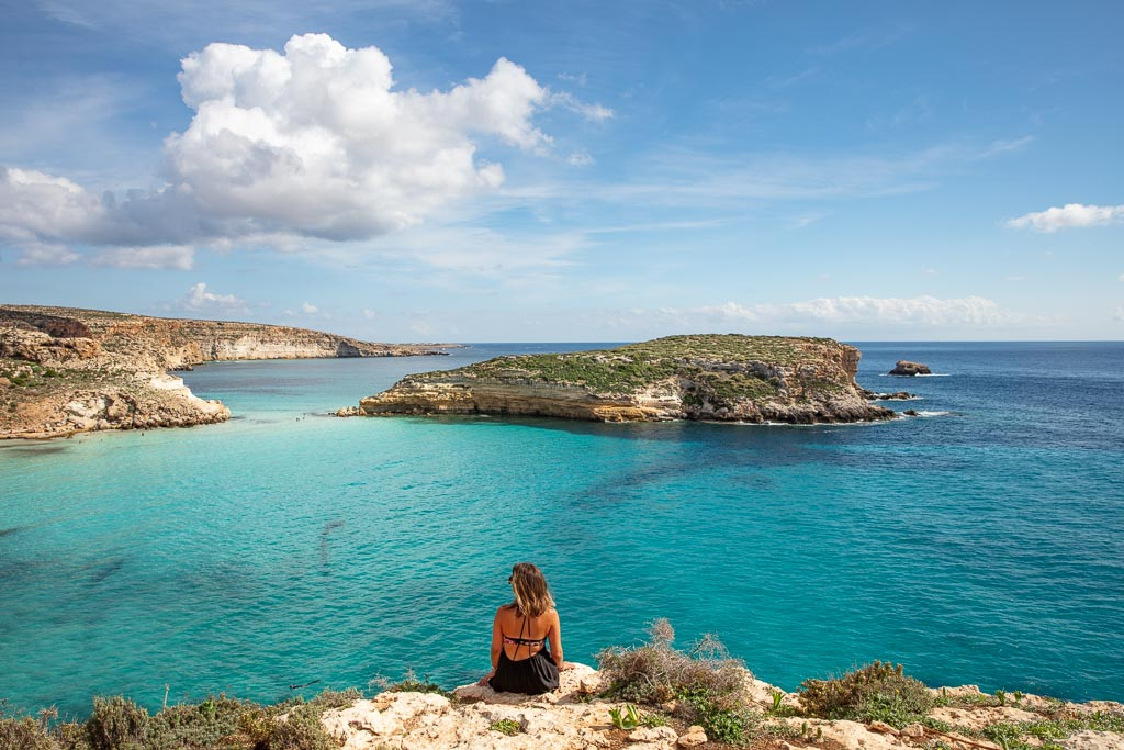 Lampedusa, Lampedusa travel, Lampedusa travel guide, Italy, Southern Italy, Sicily, Pelagie, Pelagie Islands, Rabbit Beach, Isola Dei Conigli, Spiaggia dei Conigli, Conigli beach, Lampedusa beaches