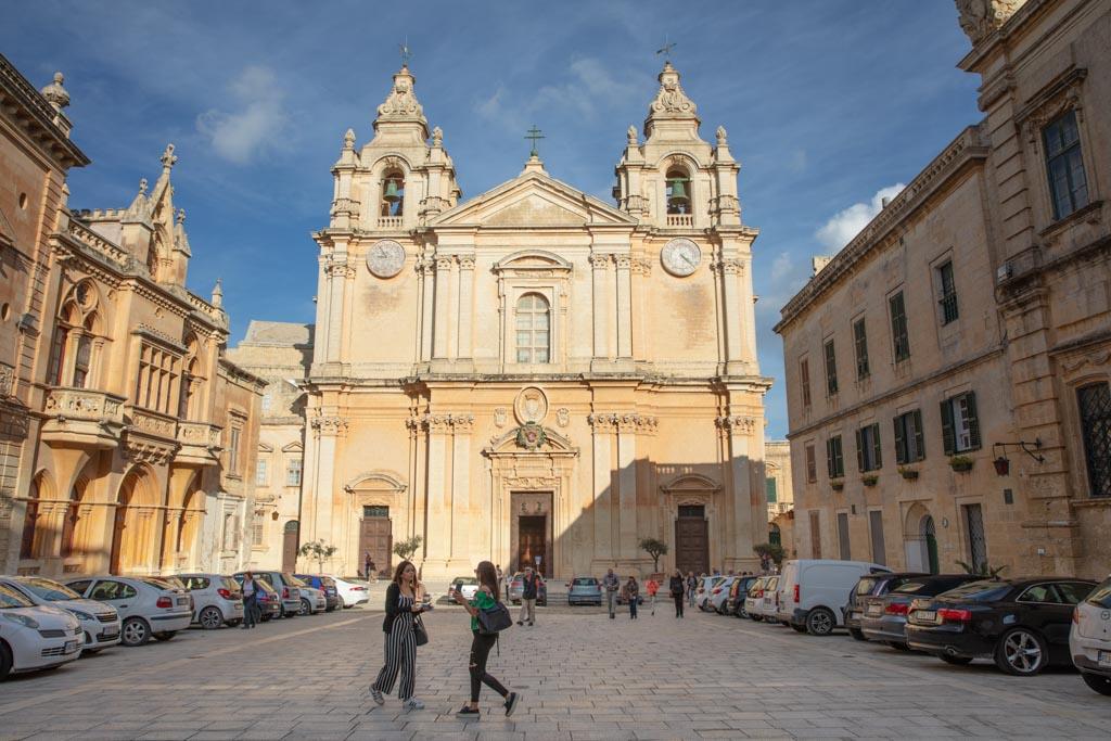 Malta, Malta travel, Malta travel guide, 4 days Malta, Malta itinerary, Europe, Mediterranean, 4 day Malta, 4 day Malta itinerary, Mdina, St Paul's cathedral, St Paul's Cathedral Mdina, Mdina cathedral
