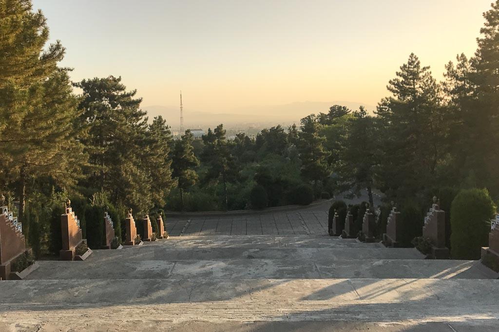 Dushanbe, Dushanbe Guide, Dushanbe City Guide, Dushanbe Travel Guide, Victory Park, Victory Park Dushanbe, Dushanbe sunset
