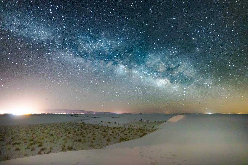 milky way, milky way white sands, stargazing white sands, White Sands, New Mexico, White Sands New Mexico, White Sands National Park, White Sands National Monument, USA, gypsum