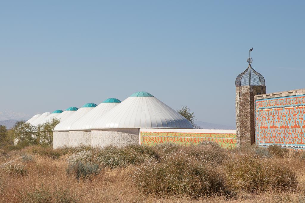 Yurts, Issykul, Kyrgyzstan