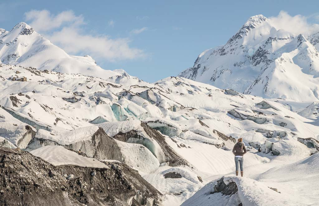 20 Mile, 20 Mile glacier, glacier, Alaska, Alaska Travel Guide