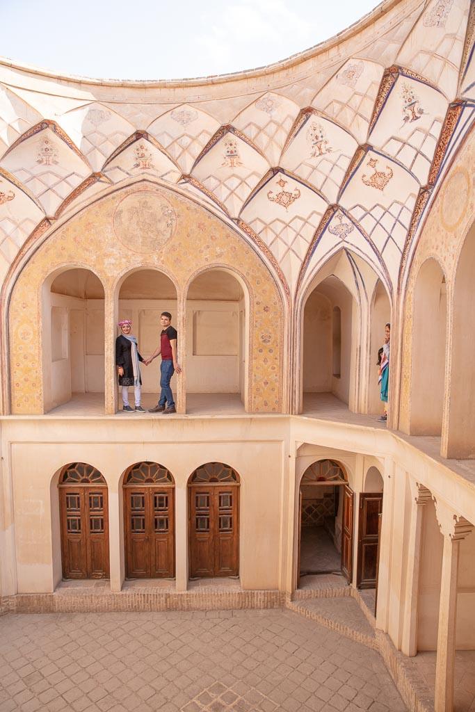 Abbasi House, Abbasi House Kashan, Kashan Historic Houses, Kashan, Iran