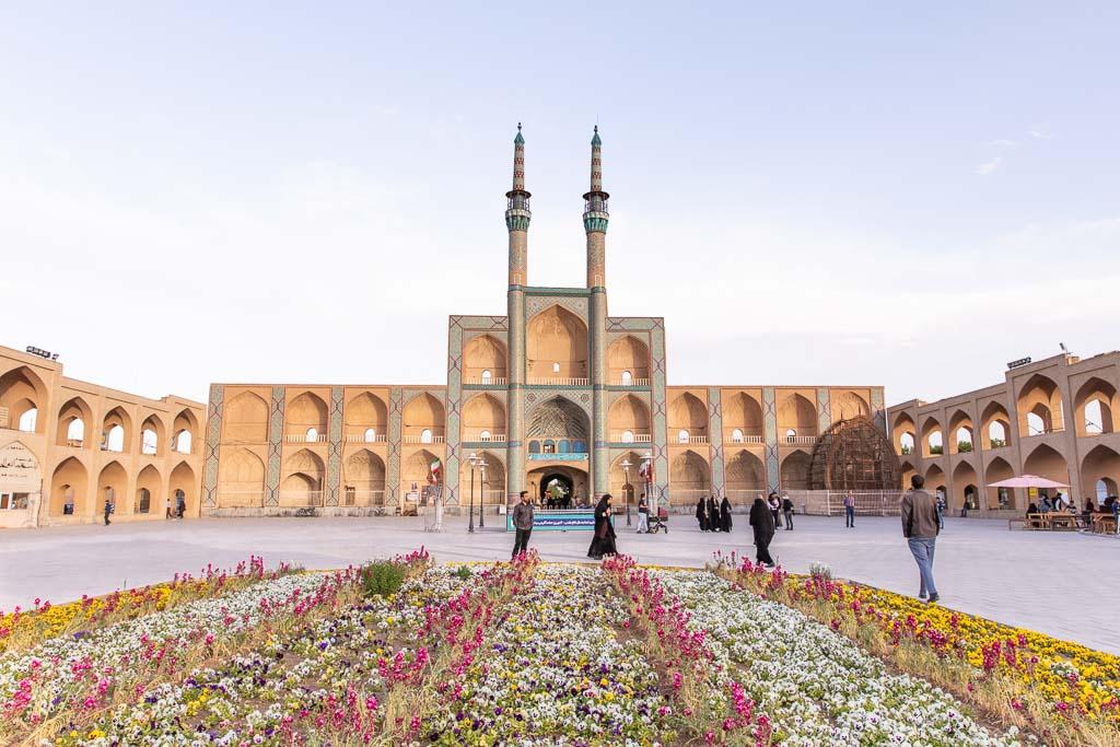 Yazd, Amir Chakhmaq, Amir Chakhmaq Mosque, Amir Chakhmaq complex, Amir Chakhmaq mosque complex, Amir Chakhmaq tekyeh, tekyeh, mosque, Yaz, Iran, Middle East